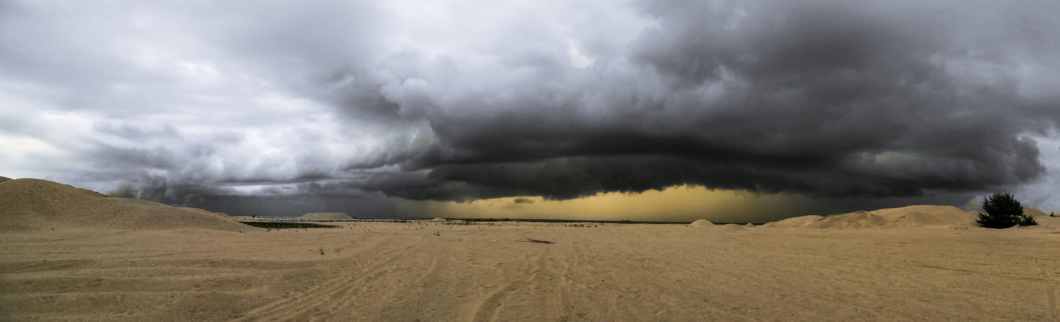 Kostenloses Stock Foto zu natur, sand, wolken, wüste