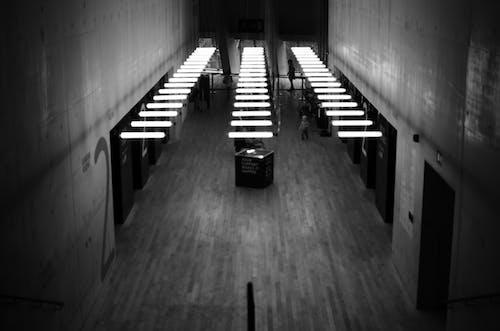 Darmowe zdjęcie z galerii z atrakcja, czarno-biały, jasny, londyn
