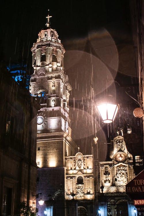 대성당, 램프, 멋진, 모렐 리아의 무료 스톡 사진