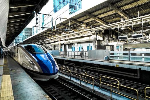 Free stock photo of train, public transportation, train station, platform