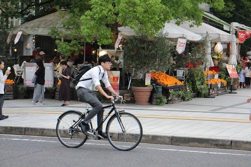 Photos gratuites de Asiatique, bicyclette, café, citadin