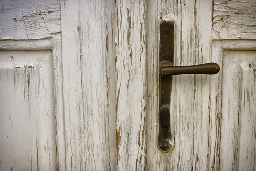 Brown Metal Door Handle Photograph