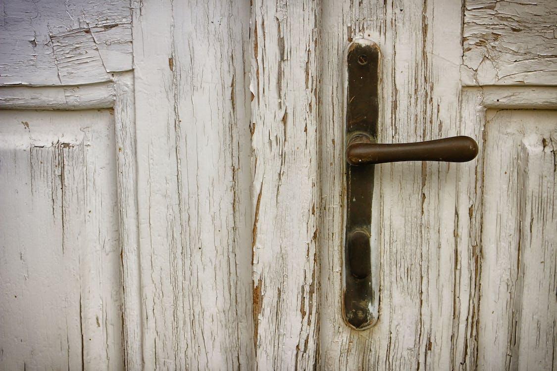 bề mặt, cửa, gỉ