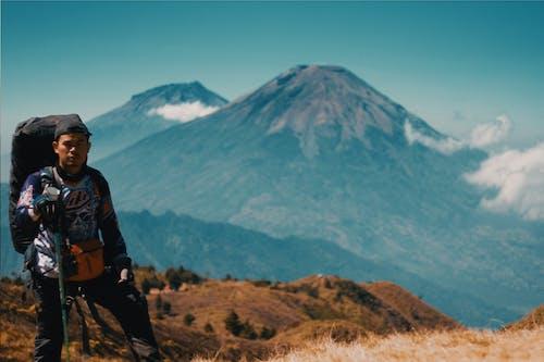 亞洲男孩, 印尼, 山, 火山 的 免费素材照片