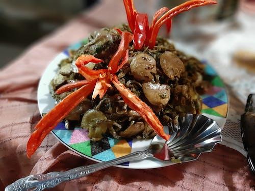 Free stock photo of jengkol sambal hijau