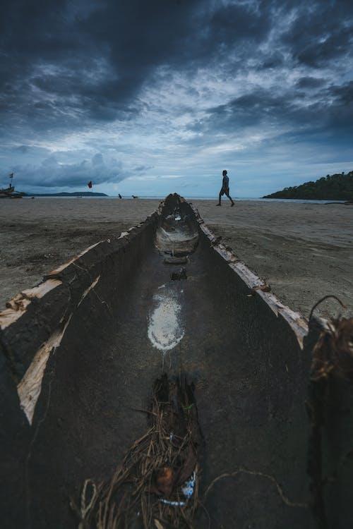 ナチュラル, ビーチ, ボートの無料の写真素材