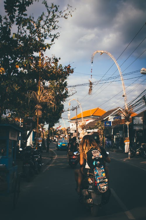 Foto d'estoc gratuïta de a l'aire lliure, Bali, carrer, carretera