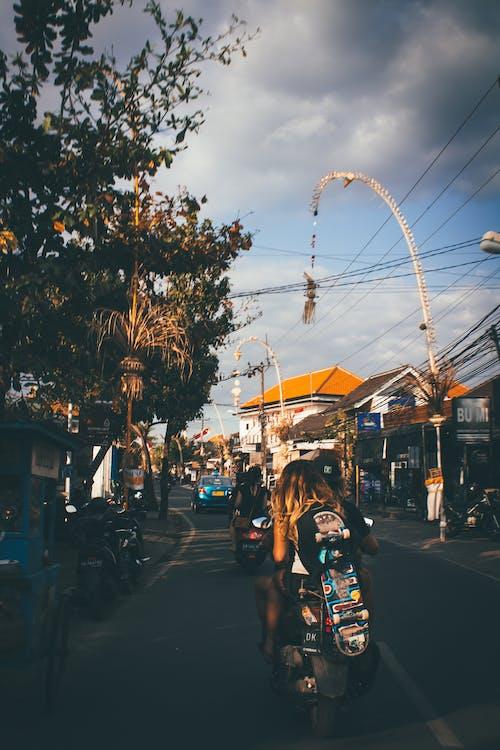 Kostnadsfri bild av bali, dagsljus, gata, hjul