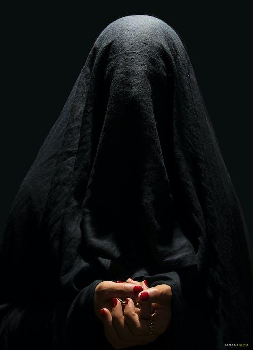 Ảnh lưu trữ miễn phí về đàn bà, đạo Hồi, đen, Hồi