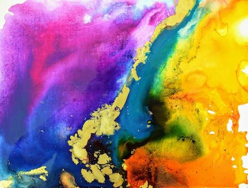 Fotobanka sbezplatnými fotkami na tému abstraktné umenie, abstraktný, amber lamoreaux, dúha