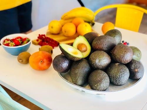 Ảnh lưu trữ miễn phí về ăn uống lành mạnh, Hoa quả tươi, màu, trái bơ