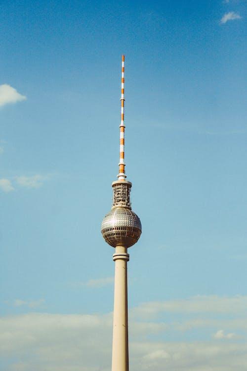 Fotobanka sbezplatnými fotkami na tému architektúra, Berlín, berliner fernsehturm, berliner fernsehturm tower
