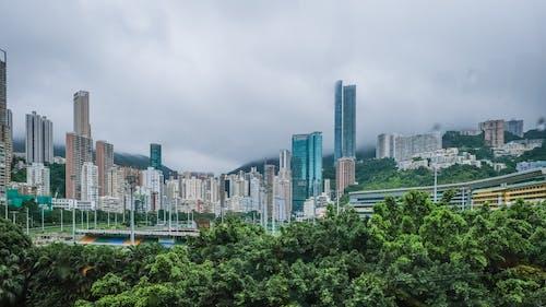 açık hava, bakış açısı, bina cephesi, binalar içeren Ücretsiz stok fotoğraf