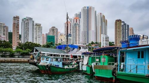 Kostnadsfri bild av arkitektonisk, arkitektonisk design, arkitektur, båtar