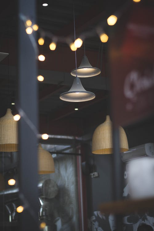 Gratis lagerfoto af kaffe, lys, mørk