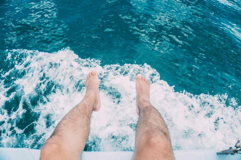 New free stock photo of person, legs, water