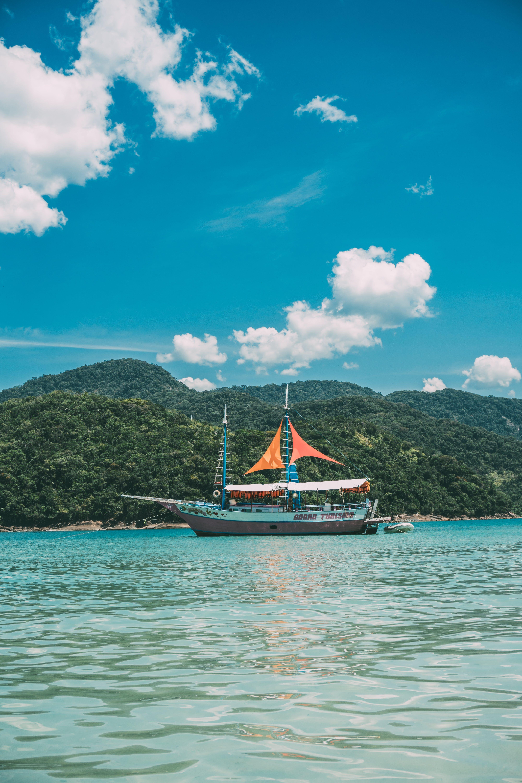 Ingyenes stockfotó ég, hajó, hajóm csónak, kék témában