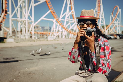 Gratis stockfoto met achtbaan, camera, camera draagband, daglicht