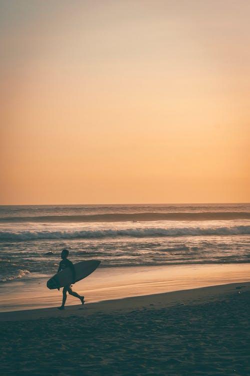剪影, 印尼, 岸邊, 巴厘島 的 免費圖庫相片