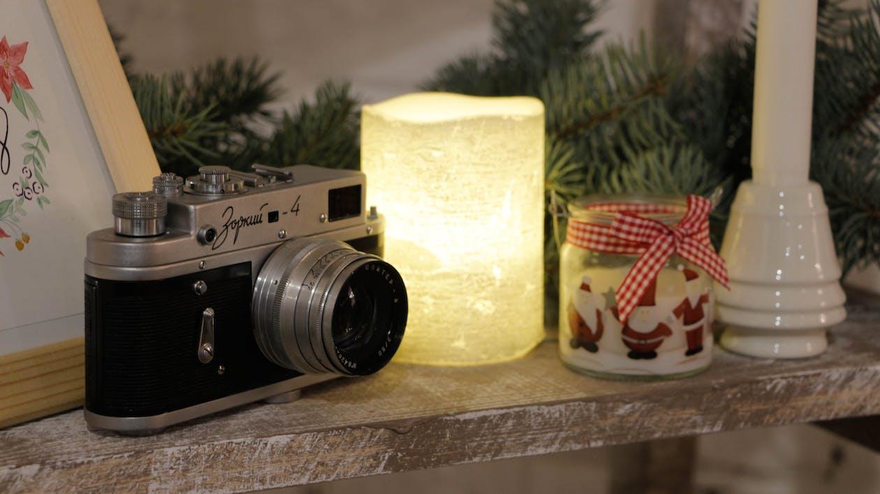 カメラ, クリスマス, クリスマスの装飾