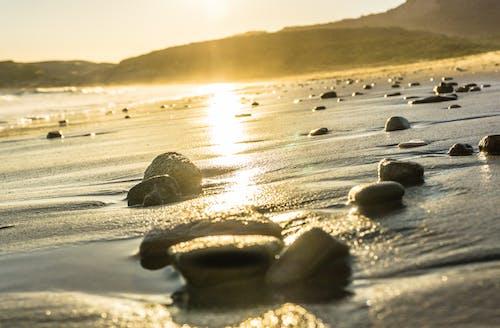 คลังภาพถ่ายฟรี ของ หิน
