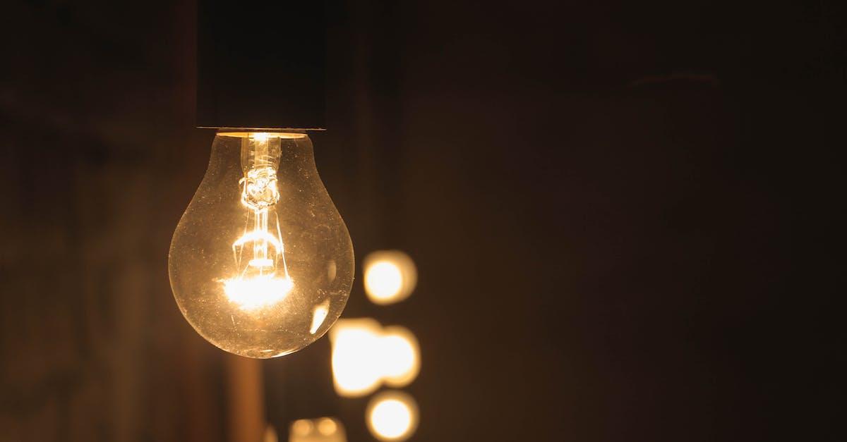 Free stock photo of lamp, light, macro