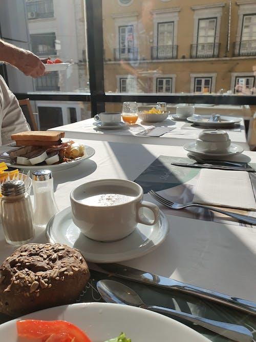 fransız kahvaltısı, kahvaltı, Portekiz içeren Ücretsiz stok fotoğraf