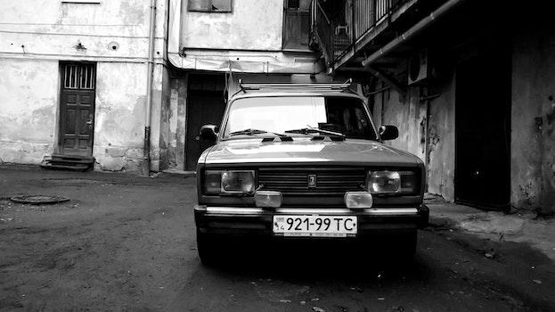 Free stock photo of car, vintage, retro, soviet