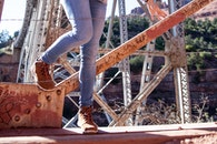 person, legs, construction