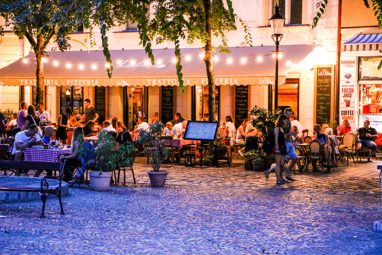 Free stock photo of night life, restaurant