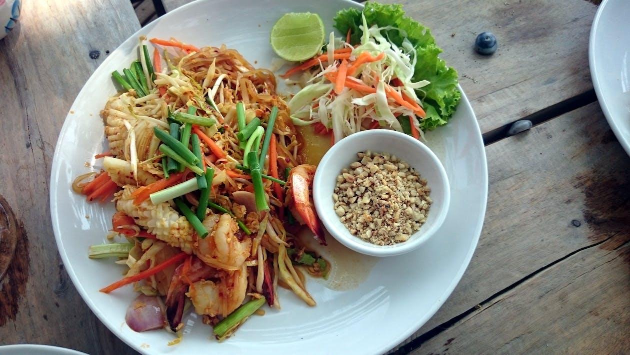 asiatisches essen, straßenessen, thailand