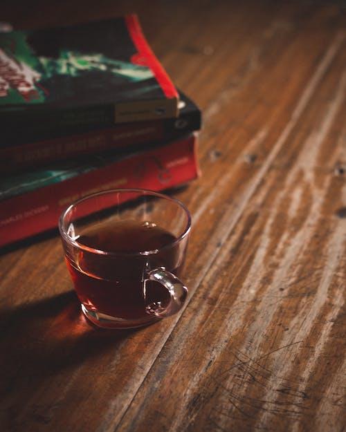 Free stock photo of black tea, books, color, moody