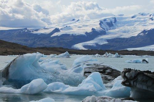 Darmowe zdjęcie z galerii z basen lodowy, góra lodowa, lodowiec