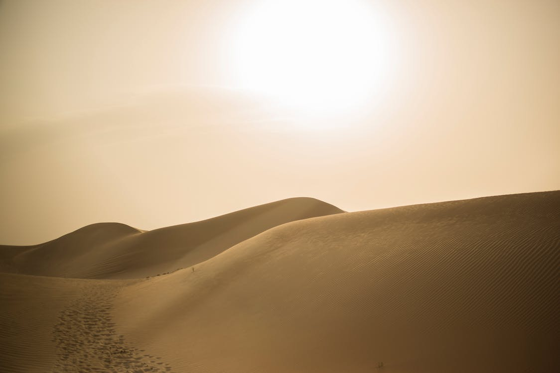 dubai, αμμόλοφος, άμμος