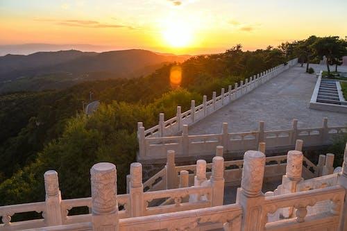 atardecer, 中国, 風景写真の無料の写真素材