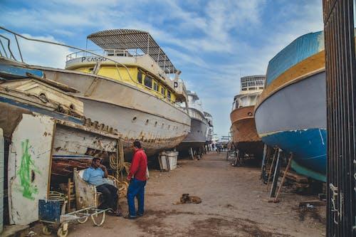 ウォータークラフト, ドッキング, ドック, ボートの無料の写真素材
