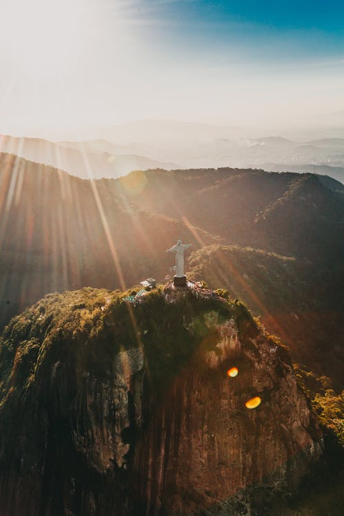 Christ the Reedemer in Rio De Janeiro, Brazil