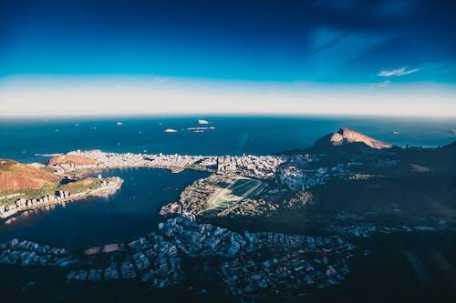 Безкоштовне стокове фото на тему «аерознімок, берег моря, Бразилія, будівлі»