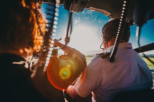 Kostenloses Stock Foto zu erholung, flugzeug, heiß, hell