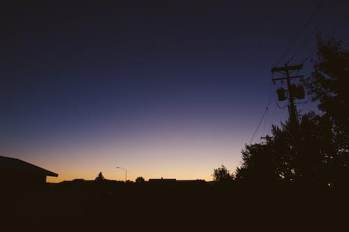 Foto profissional grátis de alvorecer, borrão, cair da noite, calmo