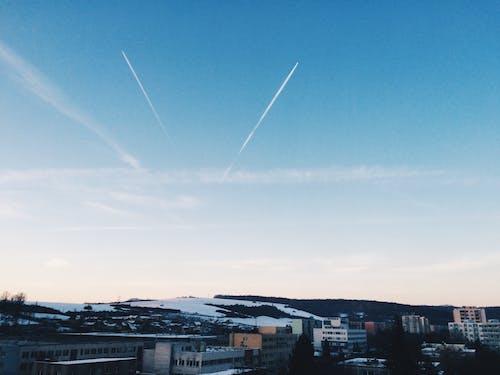 Free stock photo of aeroplane, airplane, beautiful