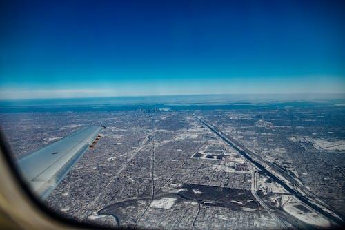 (短途)旅行, 交通系統, 伊利諾州, 天空 的 免费素材照片