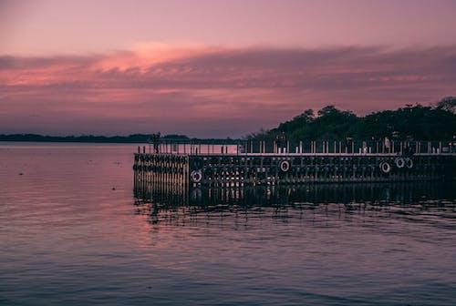 Foto d'estoc gratuïta de destinació de viatge, moll de fusta, pont