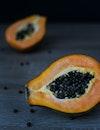 food, orange, seeds