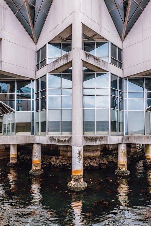 강, 건설, 건축, 건축 설계의 무료 스톡 사진