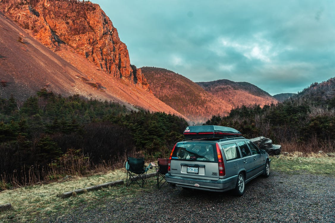 camper, rock, αυτοκίνητο