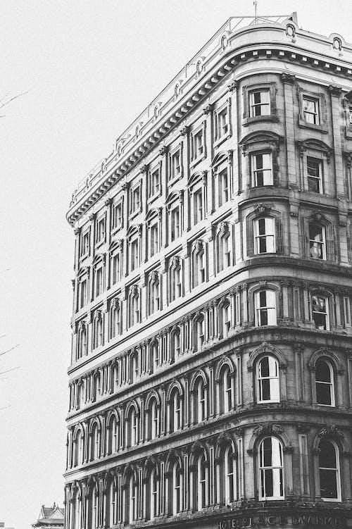 Ảnh lưu trữ miễn phí về kiến trúc, thang màu xám, thiết kế kiến trúc, Tòa nhà