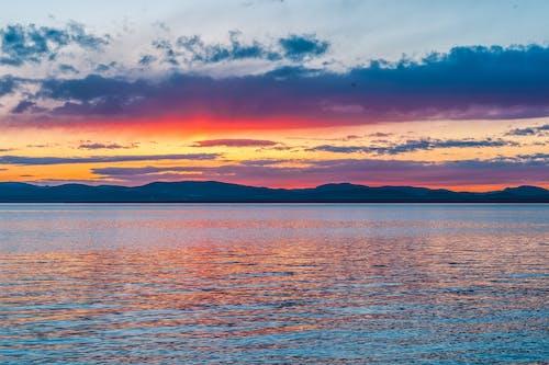 Photos gratuites de aube, coucher de soleil, crépuscule, eaux calmes