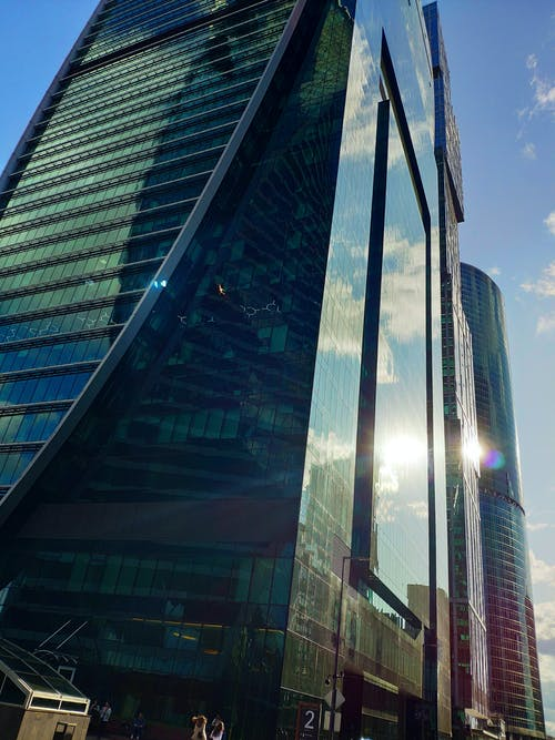 Free stock photo of city, dubai, glass city, moscow city