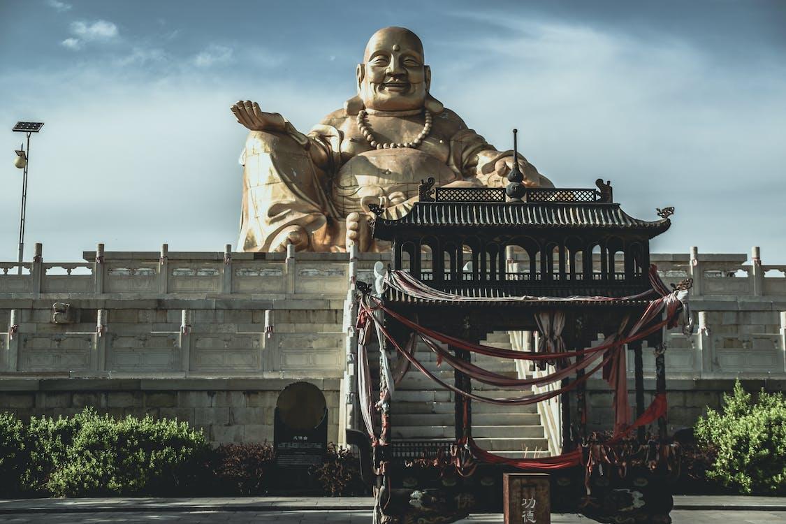architektúra, ázijský, Boh